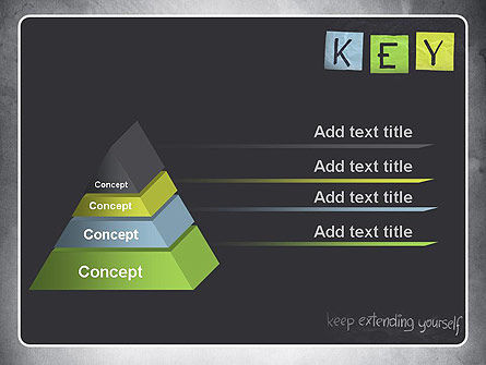 Keep Extending Yourself PowerPoint Template Slide 12