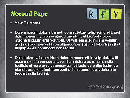 Keep Extending Yourself PowerPoint Template Slide 2