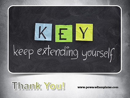 Keep Extending Yourself PowerPoint Template Slide 20