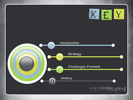 Keep Extending Yourself PowerPoint Template Slide 3