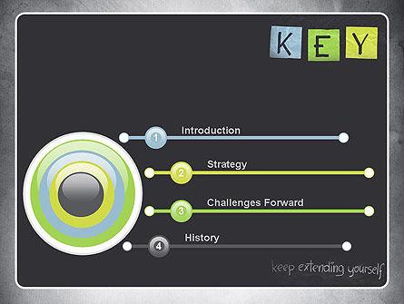Keep Extending Yourself PowerPoint Template, Slide 3, 10994, Education & Training — PoweredTemplate.com