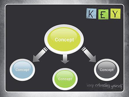 Keep Extending Yourself PowerPoint Template, Slide 4, 10994, Education & Training — PoweredTemplate.com
