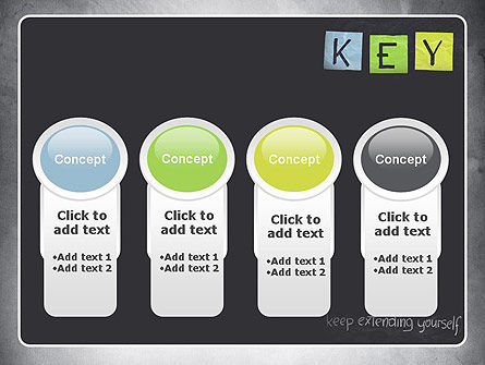 Keep Extending Yourself PowerPoint Template Slide 5