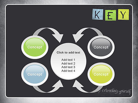 Keep Extending Yourself PowerPoint Template Slide 6