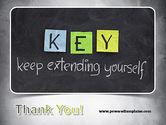 Keep Extending Yourself PowerPoint Template#20