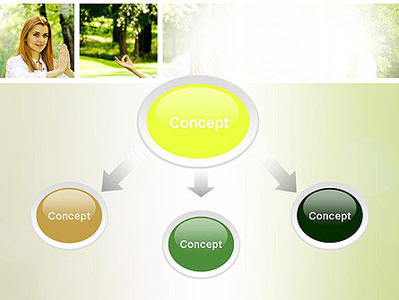 Yoga Outdoors PowerPoint Template Slide 4