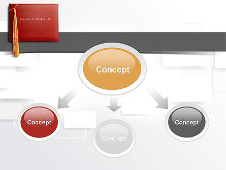 Graduation Diploma PowerPoint Template, Slide 4, 10997, Education & Training — PoweredTemplate.com