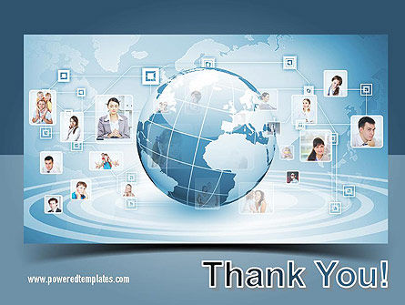 Business Networking PowerPoint Template Slide 20