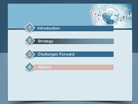 Business Networking PowerPoint Template, Slide 3, 11001, Careers/Industry — PoweredTemplate.com