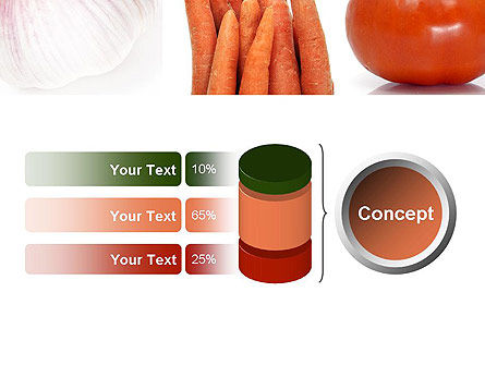 Different Vegetables Collage PowerPoint Template Slide 11