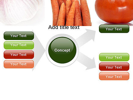 Different Vegetables Collage PowerPoint Template Slide 14