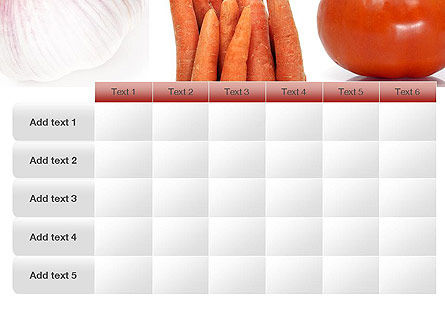 Different Vegetables Collage PowerPoint Template Slide 15
