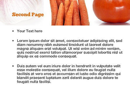 Different Vegetables Collage PowerPoint Template, Slide 2, 11002, Food & Beverage — PoweredTemplate.com