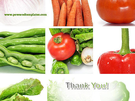 Different Vegetables Collage PowerPoint Template Slide 20