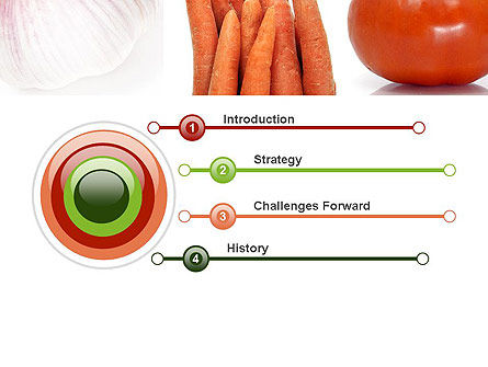 Different Vegetables Collage PowerPoint Template Slide 3
