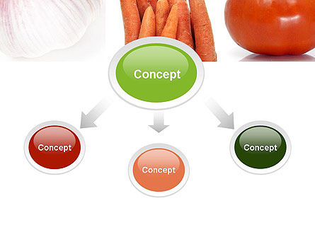 Different Vegetables Collage PowerPoint Template, Slide 4, 11002, Food & Beverage — PoweredTemplate.com
