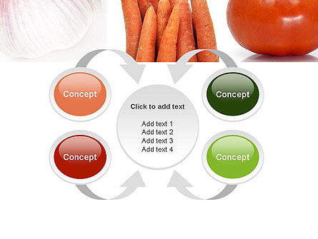 Different Vegetables Collage PowerPoint Template Slide 6