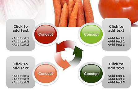 Different Vegetables Collage PowerPoint Template Slide 9