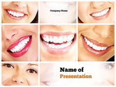 Medical: Dental Smile PowerPoint Template #11003