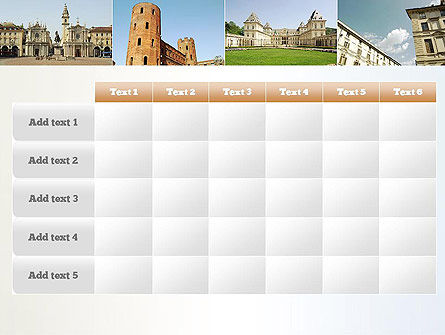 Turin Landmarks Collage PowerPoint Template Slide 15