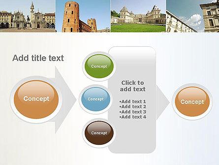 Turin Landmarks Collage PowerPoint Template Slide 17