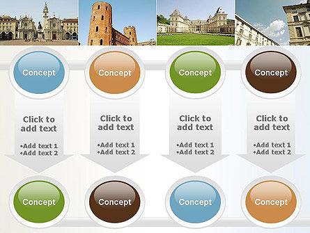 Turin Landmarks Collage PowerPoint Template Slide 18