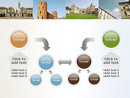 Turin Landmarks Collage PowerPoint Template Slide 19