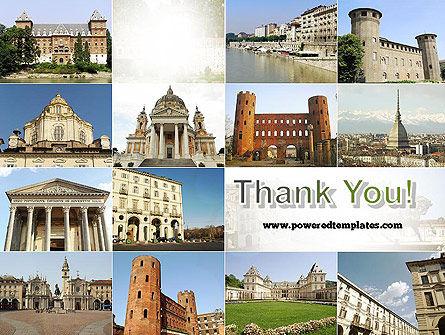 Turin Landmarks Collage PowerPoint Template Slide 20