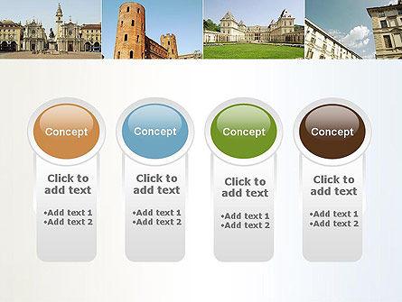 Turin Landmarks Collage PowerPoint Template Slide 5