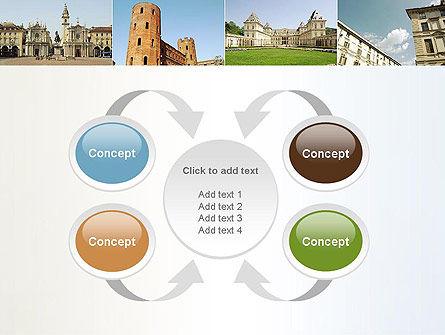 Turin Landmarks Collage PowerPoint Template Slide 6