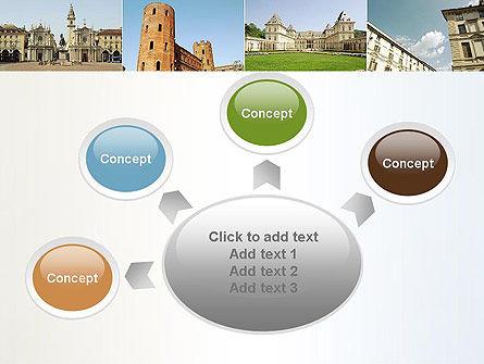 Turin Landmarks Collage PowerPoint Template Slide 7