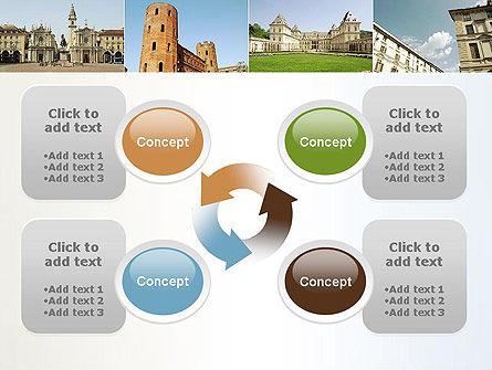 Turin Landmarks Collage PowerPoint Template Slide 9