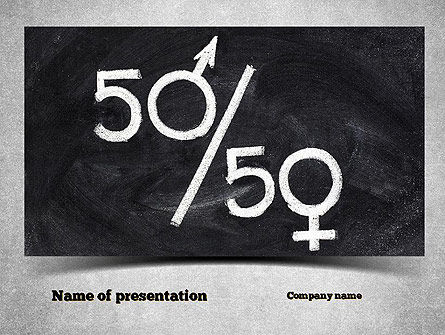 Gender Equality PowerPoint Template, 11006, General — PoweredTemplate.com