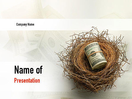 Financial/Accounting: Venture Capital PowerPoint Template #11007