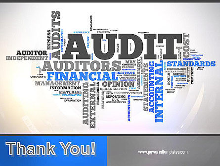 Audit Word Cloud PowerPoint Template Slide 20