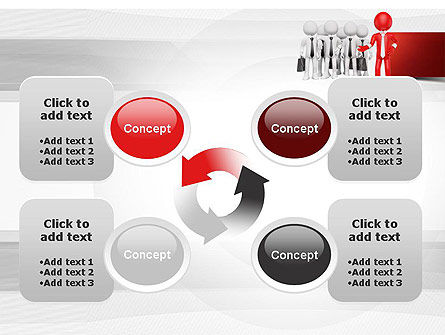 Business Work Team PowerPoint Template Slide 9