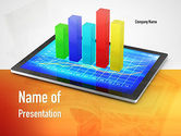 Business Concepts: Bar Graph PowerPoint Template #11011