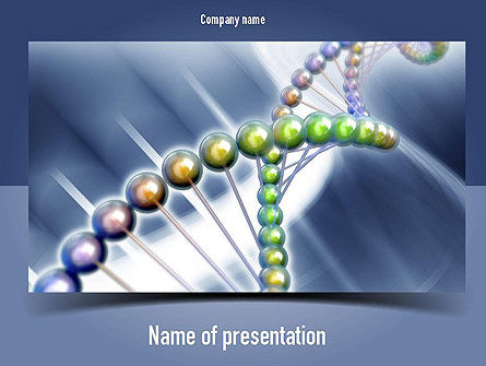 Education & Training: Human Genome PowerPoint Template #11012