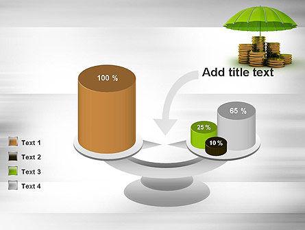 Protected Savings PowerPoint Template Slide 10