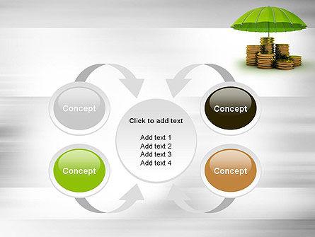 Protected Savings PowerPoint Template Slide 6
