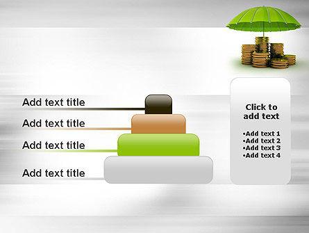 Protected Savings PowerPoint Template Slide 8