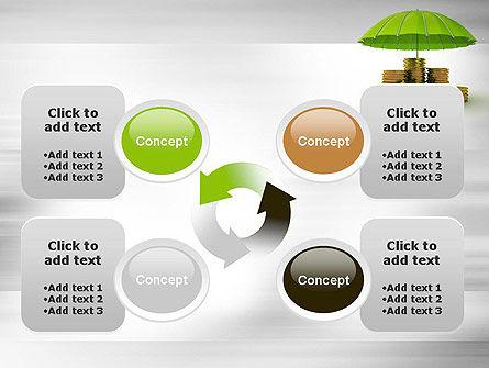 Protected Savings PowerPoint Template Slide 9