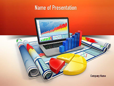 Business Data Analysis PowerPoint Template, 11018, Consulting — PoweredTemplate.com