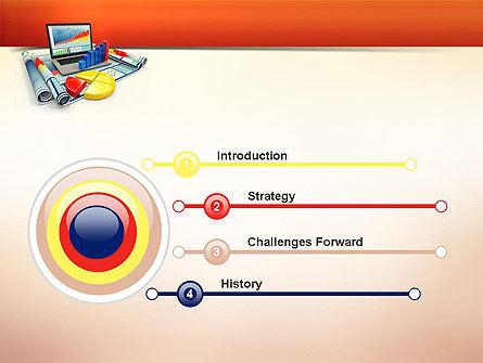 Business Data Analysis PowerPoint Template, Slide 3, 11018, Consulting — PoweredTemplate.com