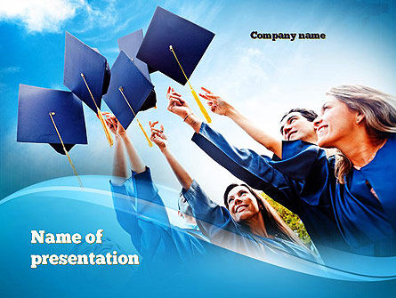 Education & Training: Graduation Ceremony PowerPoint Template #11019