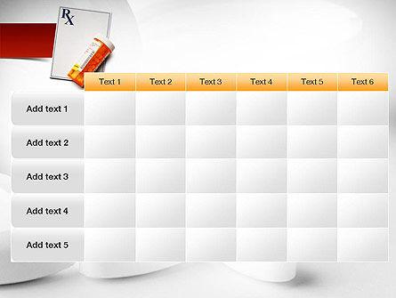 Prescription Drugs RX PowerPoint Template Slide 15