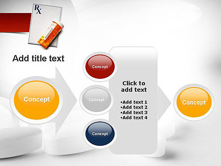Prescription Drugs RX PowerPoint Template Slide 17