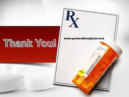 Prescription Drugs RX PowerPoint Template Slide 20
