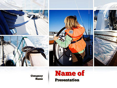 Careers/Industry: Maritime PowerPoint Template #11021