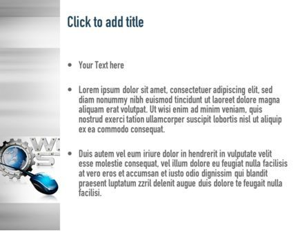 Web Hosting Theme PowerPoint Template, Slide 3, 11022, Careers/Industry — PoweredTemplate.com